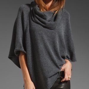 Style & Co. Cowl Neck womens sweater xl grey gray